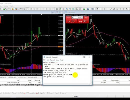 Forex 1 Min Scalping 5 pips per Trade