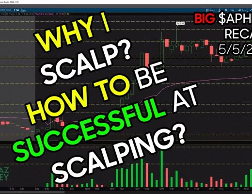 WHY I SCALP? HOW TO BE SUCCESSFUL AT SCALPING? – Rules I Broke on $APHB Loss