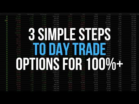 3 Simple Strategies To Make A Living Day Trading Options   100%+ A Week