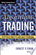 Algorithmic Trading Book - Winning Strategies and Their Rationale