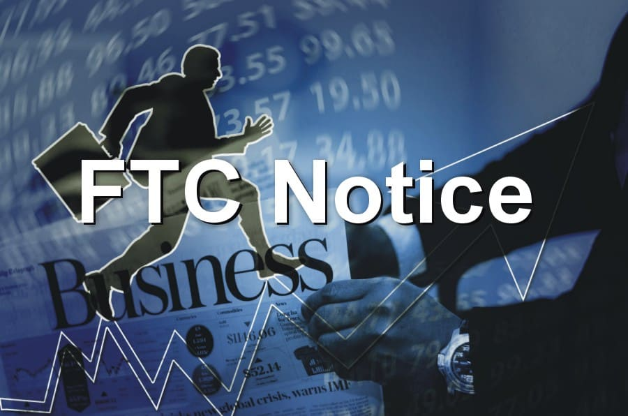 FTC Notice