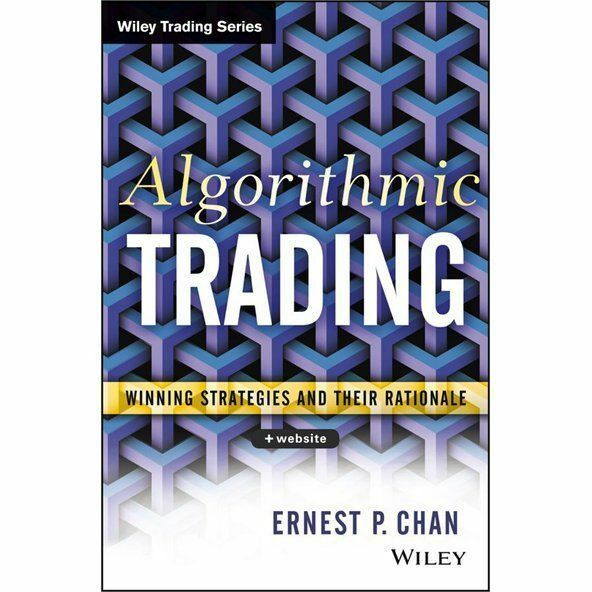 Front Cover - Algorithmic Trading Book - Winning Strategies and Their Rationale