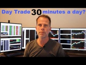 Day Trading Basics - Trading the First Half an Hour