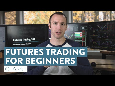 How To Trade Futures For Beginners   The Basics of Futures Trading [Class 1]