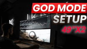 "Day Trading Computer or Gaming Setup? LG Monitor GODMODE 49"" X2 (2019)"