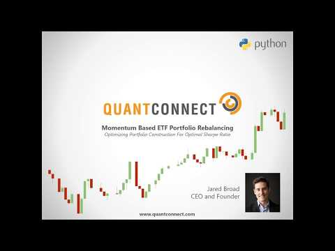 QuantConnect - Momentum Based ETF Asset Allocation in Python, Momentum Trading Strategy Python