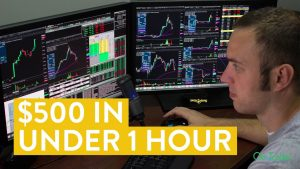 [LIVE] Day Trading | How to Make $500 in Under 1 Hour (Stock Market Power!)