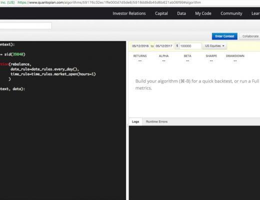 Python Algo Trading Coding   Introduction to Momentum method