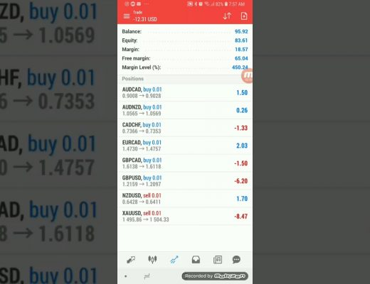 Active Investments Group Long term Forex trading strategy. Small account growth