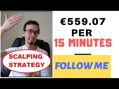 WATCH ME SCALP (LIVE) €559.04 in 15 minutes (BEST SCALPING STRATEGY)