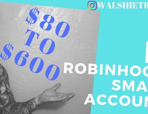 80$ Robinhood account to 600+!! HOW TO SCALP OPTIONS