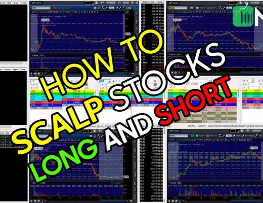 HOW TO SCALP STOCKS ( Long Dips, Short Pops ) on NASDAQ Big Boards