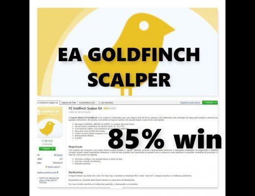 EA GOLDFINCH SCALPER_ 85% WINNER_ Rebaixamento Minimo!!