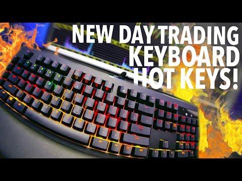 NEW DAY TRADING KEYBOARD + HOT KEYS!, Forex Momentum Trading Keyboard