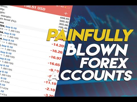 😂😂😂FOR LAUGHS - WATCH Forex accounts blown - forex brokers taking money from forex traders