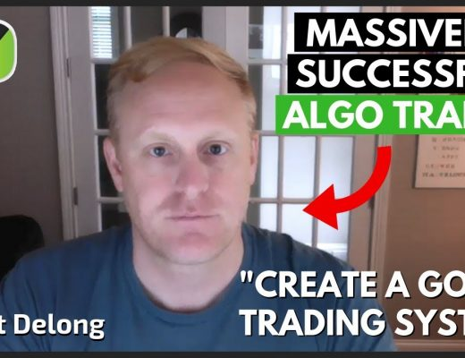 """""""Full-Time AUTOMATED TRADING"""" – Matt DeLong   Trader Interview"""