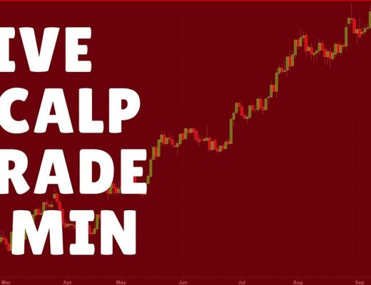 Live Scalping Trade Forex 5-Minute Chart