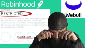 Pattern Day Trader (broken FINRA rules) Equity Maintenance Call LOCKED out of Robinhood (OK Webull)