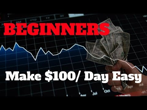 Simple Method To Make $100 A Day Trading Cryptocurrency As A Beginner    Tutorial Guide