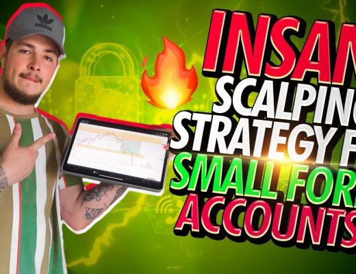 INSANE Scalping Strategy For SMALL Forex Accounts! (EASY)