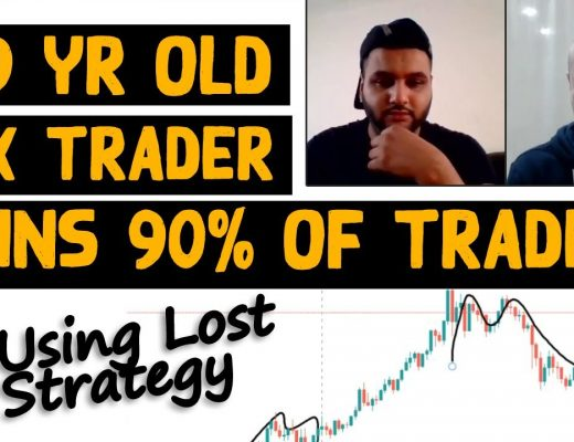 """19 Yr Old Forex Wins 90% of Trades Using """"Lost Strategy"""""""