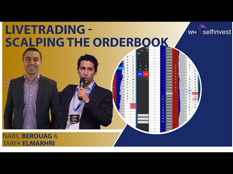 Live Trading  Scalping the Orderbook, Scalping Trading Books