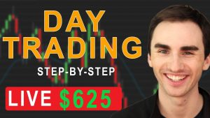 Day Trading For Beginners With A Small Account - Live Day Trades +$625