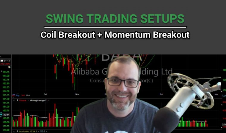 How to Swing Trade Coil and Momentum Breakout Setups