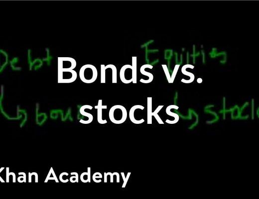 Bonds vs. stocks | Stocks and bonds | Finance & Capital Markets | Khan Academy