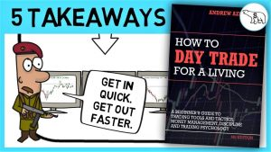 HOW TO DAY TRADE FOR A LIVING SUMMARY (BY ANDREW AZIZ)