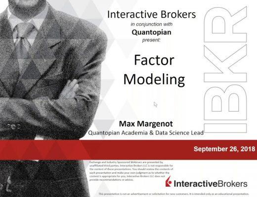 Factor Modeling