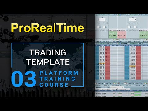 3. Trading template with order book, scalping tool, Scalping Trading Books