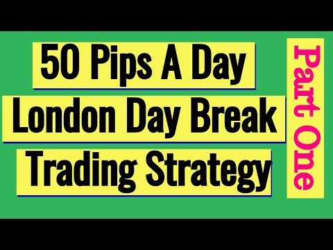 50 Pips A Day Forex London Day Break Strategy Part 1, Forex Event Driven Trading Queens