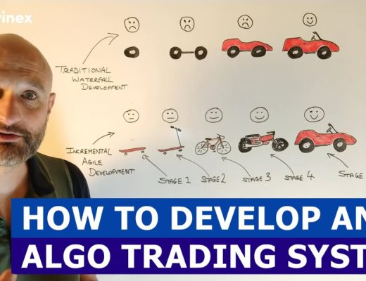 5.1) The Right Way to Develop Algorithmic Trading Systems | Algo Trading for a living