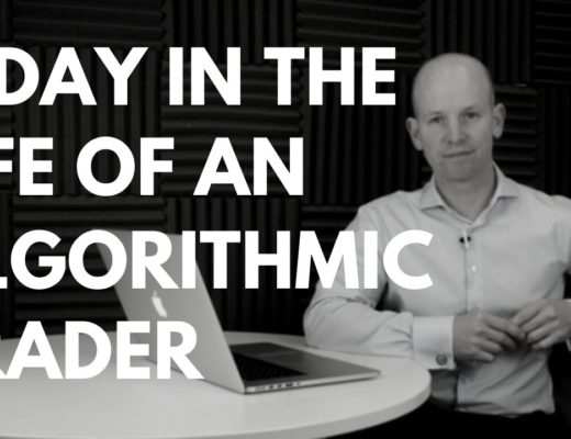 A DAY IN THE LIFE OF AN ALGO TRADER