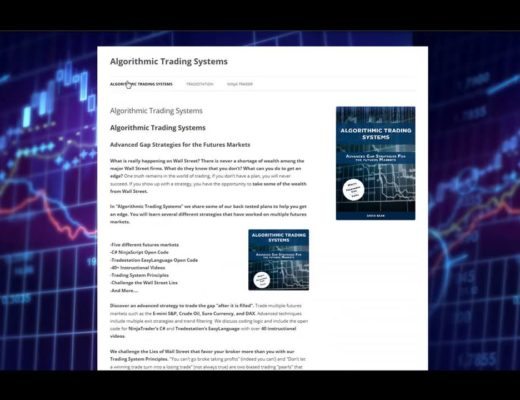 Algorithmic Trading Systems Code Book Review