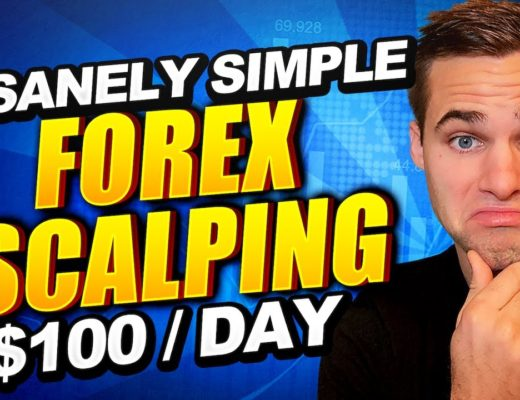 BEST FOREX SCALPING STRATEGY for Beginners | $100 / Day (STEP-BY-STEP)