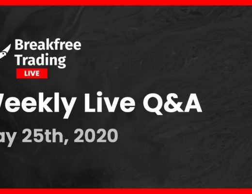 Breakfree Trading Weekly Q&A — Entering Your Trades and Reviewing Setups | Forex Algorithmic Trading