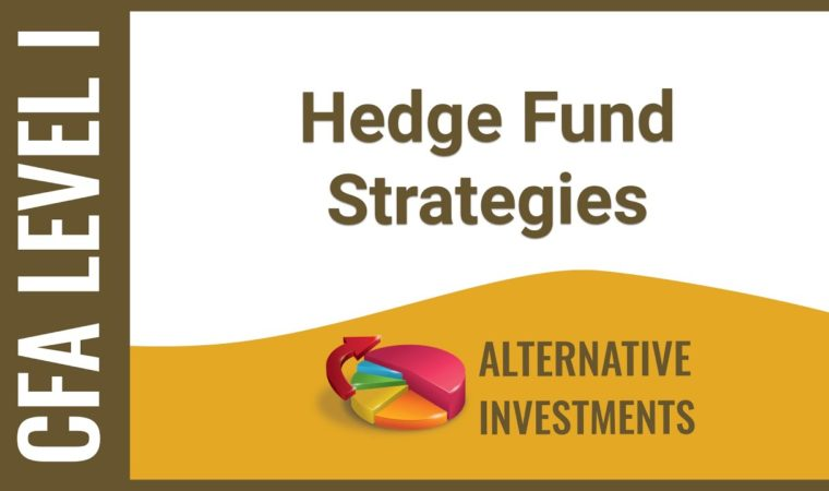 CFA Level I Alternative Investments – Hedge Fund Strategies