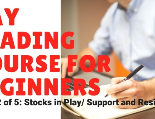 Day Trading Class for Beginners (Class 2 of 5): Stocks in Play / Support and Resistance