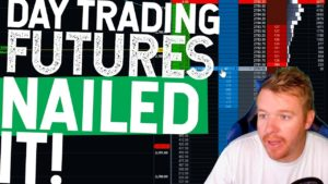 DAY TRADING FUTURES LIVE! $650 NAILING THIS TRADE!