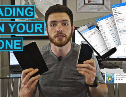 Day trading on your mobile phone   Good & Bad