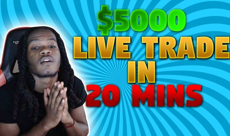 FOREX $5000 IN 20 MINUTES   $1000 ACCOUNT FLIP!   Insane Forex Scalping Strategy