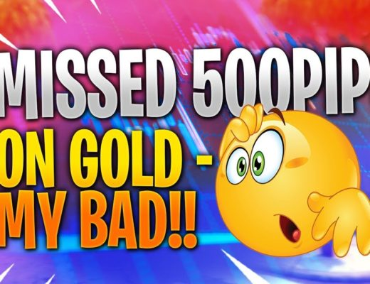 FOREX TRADING REVIEW – HOW I MISSED PIPS ON GOLD – left money on the table!!
