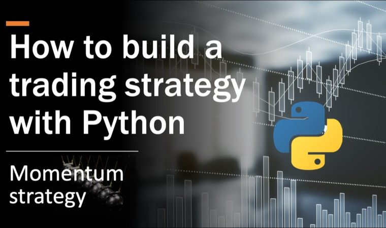 How to build a trading strategy [Momentum] with Python?