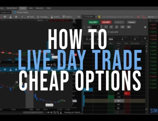 How to Live Day Trade Cheap Options