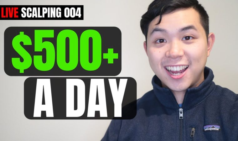 How to Make $500 a Day Trading ONE Stock | Live Scalping 004