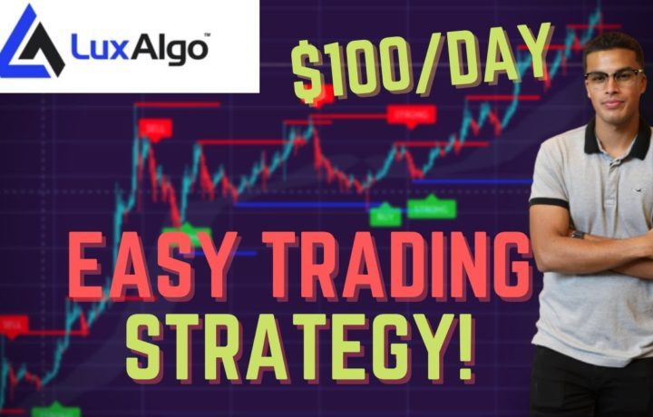 How To Make An Extra $100/Day Trading! (Using Lux Algo)
