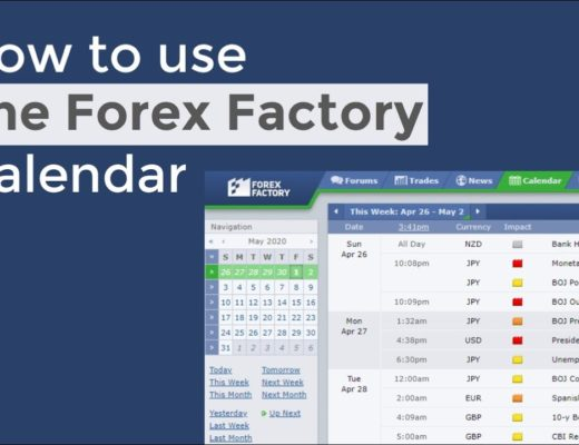 How to use The Forex Factory Economic Calendar