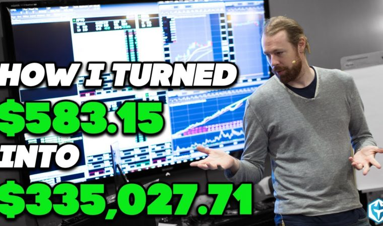 I turned $583.15 to $335,027.71 in VERIFIED profits by Day Trading Momentum Stocks